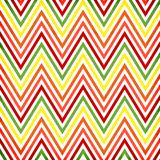 Colorful zigzag  pattern Royalty Free Stock Image