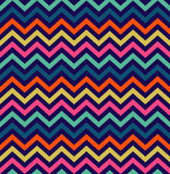 Colorful zigzag seamless pattern Royalty Free Stock Photos