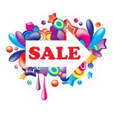 Colorful_sale_arrow Stock Photo