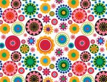 Colorfulflower decor d Stock Image