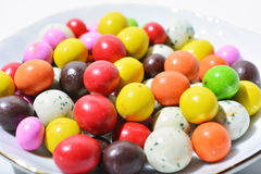 Colorfull巧克力球 库存照片