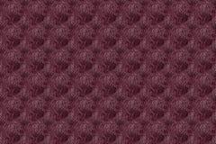 Colorfull无缝的抽象手拉的佩兹利样式,多被定调子的波浪在黑暗的背景,红色,褐紫红色,黄色设计,蓝色 免版税图库摄影