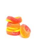 Colorfull胶粘的糖果 库存照片