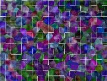 Colorfull铺磁砖背景 免版税库存图片