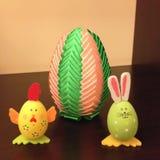 colorfull αυγό Πάσχας Στοκ φωτογραφία με δικαίωμα ελεύθερης χρήσης