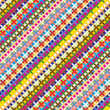 colorfull γεωμετρικό πρότυπο Στοκ εικόνες με δικαίωμα ελεύθερης χρήσης