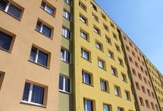 colorfull κοινοτικό σπίτι σύγχρον&om Στοκ Εικόνες