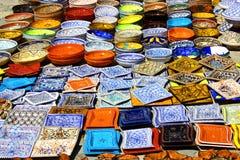 colorfull πιάτα Στοκ φωτογραφίες με δικαίωμα ελεύθερης χρήσης