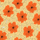 colorfull τρύγος λουλουδιών Στοκ φωτογραφία με δικαίωμα ελεύθερης χρήσης