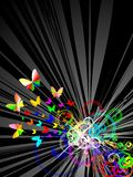 colorfull предпосылки ретро Стоковые Изображения RF