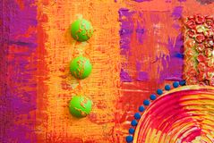 Colorfull abstract artwork. Artwork is created and painted by myself royalty free illustration