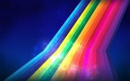 colorfull abstrakcjonistyczna linia Zdjęcie Stock