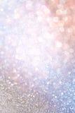 Colorfull abstrakt begreppbokeh tänder defocused bakgrund Royaltyfria Foton