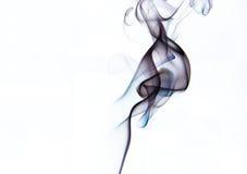 Colorfull aisló arte del humo del incienso Imagen de archivo libre de regalías