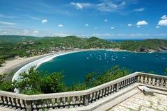 Colorfull-Ansicht der Bucht Lizenzfreie Stockfotos
