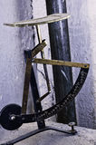Colorfull antiguo de la escala de letra Imagen de archivo