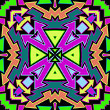 Colorfull Arrows Abstract Pattern Stock Image