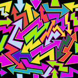 Colorfull Arrows Seamless Background Royalty Free Stock Photo