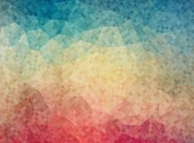 Colorfull background with small square shapes. Stock Photos