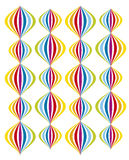 Colorfull balloon pattern. Or textures illustration royalty free illustration
