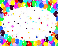 Colorfull balloons Stock Photos