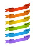 Colorfull banners set Royalty Free Stock Image