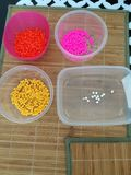 Colorfull beads Stock Images