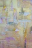 colorfull betonowa odsłonięta grunge tekstury ściana Obraz Royalty Free