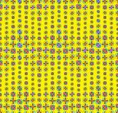 Colorfull bezszwowy kwiecisty wzór Fotografia Stock