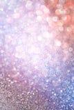 Colorfull bokeh abstrakcjonistyczni światła. defocused tło Obrazy Royalty Free