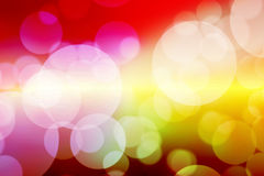Colorfull bokeh blurred abstract bokeh background.  Stock Images