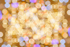 Colorfull bokeh glitter defocused lights abstract. Background royalty free stock images