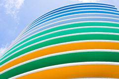 Colorfull building Royalty Free Stock Images