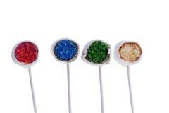 Colorfull cakepops fotografering för bildbyråer