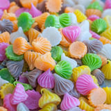 Colorfull candy. A very colorfull background full of candy stock photo