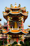 Colorfull Chinese belfry Stock Images