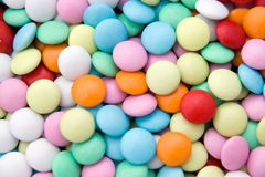 Colorfull chocolate candy. Background with colorfull chocolate candy Royalty Free Stock Photos