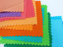 Colorfull cotton fabric Stock Image