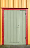 Colorfull door Royalty Free Stock Photo