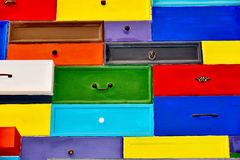 Colorfull drawer Royalty Free Stock Photos