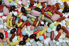 Colorfull Drugs royalty free stock image