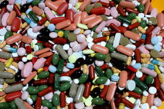 Colorfull Drugs Royalty Free Stock Photo