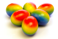 Colorfull easter eggs Royalty Free Stock Photos