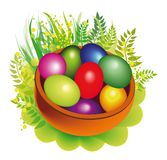 Colorfull eggs Royalty Free Stock Photos