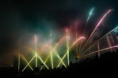 Colorfull fireworks Stock Image