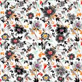 Colorfull Floral pattern. Background vector Stock Image