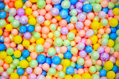 Colorfull of foam Royalty Free Stock Photo