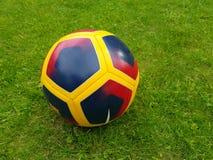 Colorfull fotbollboll Royaltyfria Foton
