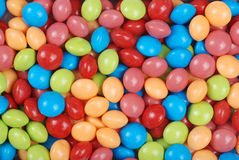 Colorfull fruit candy background Royalty Free Stock Photos