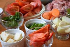 Colorfull-Gemüse Lizenzfreie Stockbilder